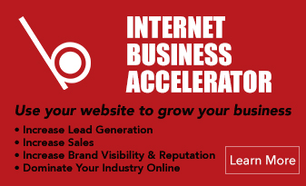 INTERNET BUSINESS ACCELERATOR , Use your website to grow your business, Increase Lead Generation, Increase Sales, Increase Brand Visibility & Reputation, Dominate Your Industry Online, with Whiteball Creative Solutions