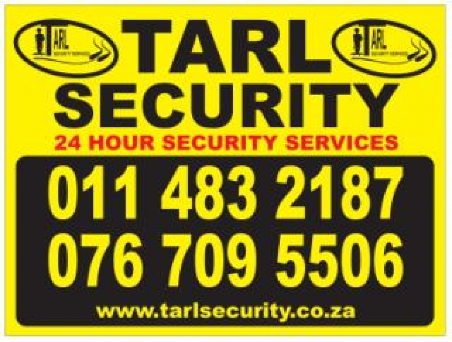 TARL Security Services CC, security services