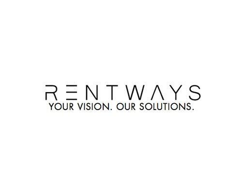 Rentways Company Logo, Office equipment supplier