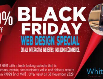 BLACK FRIDAY website design SPECIAL